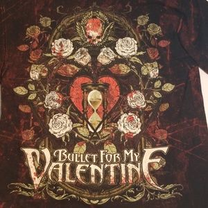 Mens Medium Bullet for My Valentine Band t-shirt